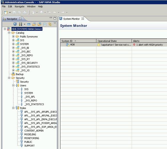 JDBC connection to SAP HANA f