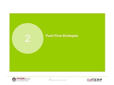 Push Flow Strategies